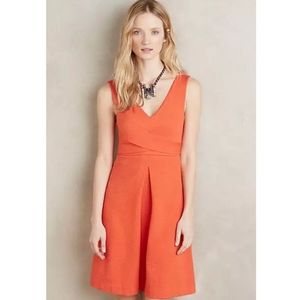 HD in Paris Ardmore Anthropologie dress orange 14